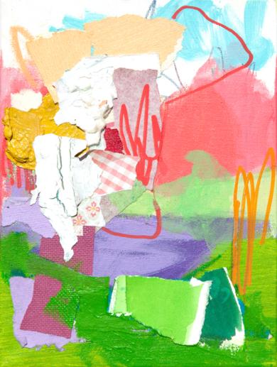 GARDEN  02|PinturadeMarta Aguirre| Compra arte en Flecha.es
