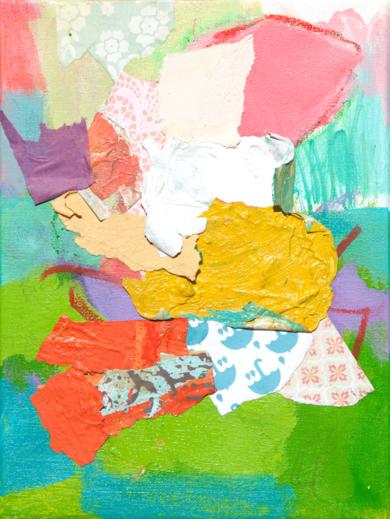GARDEN  03|PinturadeMarta Aguirre| Compra arte en Flecha.es