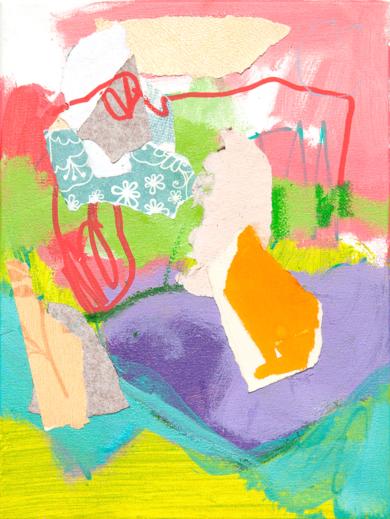 GARDEN 05|PinturadeMarta Aguirre| Compra arte en Flecha.es