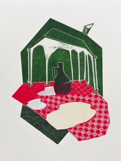 DIÁLOGOS DE HOGAR|Obra gráficadeMarta Aguirre| Compra arte en Flecha.es