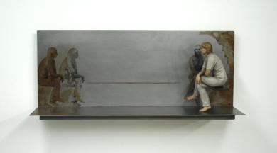Callada conversación|EsculturadeMarta Sánchez Luengo| Compra arte en Flecha.es