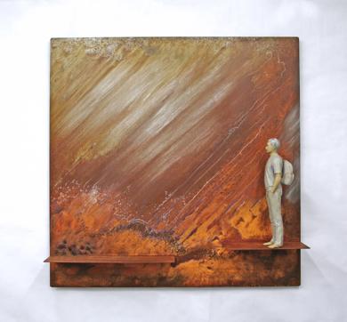 El viaje IV|EsculturadeMarta Sánchez Luengo| Compra arte en Flecha.es