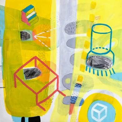 También columnas|CollagedeÁngel Celada| Compra arte en Flecha.es