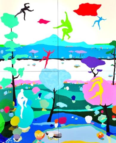 Parkour salvaje|PinturadeALEJOS| Compra arte en Flecha.es