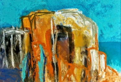 Cala St Vicente,  Mallorca|DibujodeSTEYN| Compra arte en Flecha.es