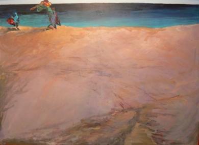 Amor a primera vista|Pinturaderivera| Compra arte en Flecha.es