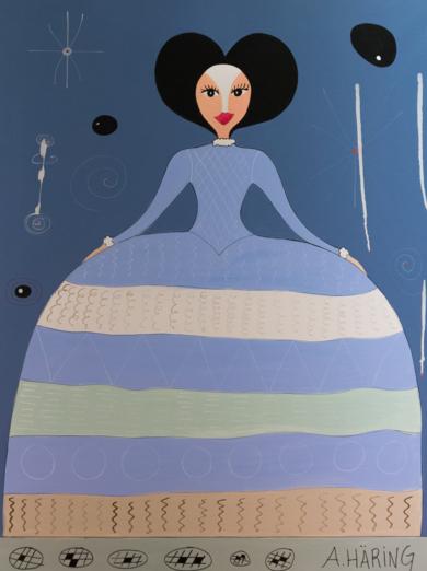 Matilda Menina|PinturadeÁngela Fernández Häring| Compra arte en Flecha.es