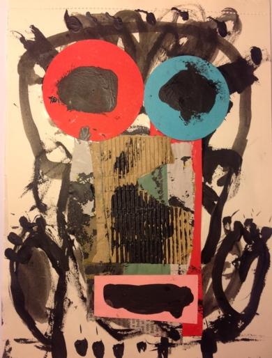 Cara 1|CollagedePedro galvez| Compra arte en Flecha.es
