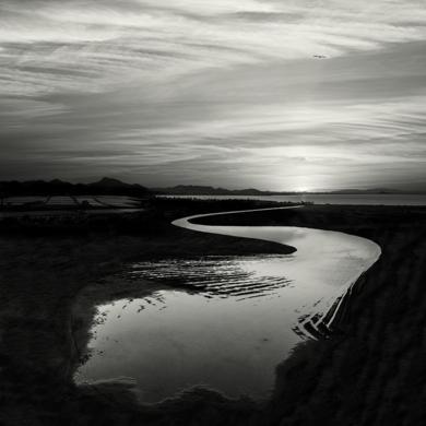 Waterscape 06 _Las Salinas del Mar Menor, Murcia, España|FotografíadeAndy Sotiriou| Compra arte en Flecha.es
