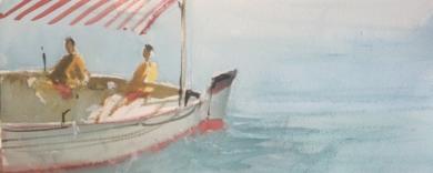 Jornada de pesca|PinturadeIñigo Lizarraga| Compra arte en Flecha.es