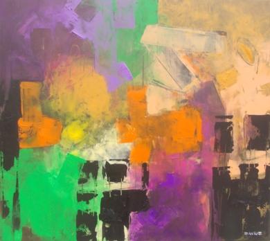An Untitled Painting PinturadeFrancisco Santos  Compra arte en Flecha.es