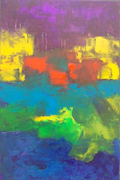 Landscape PinturadeFrancisco Santos  Compra arte en Flecha.es