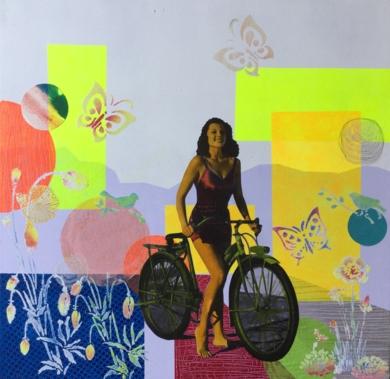 Rita|CollagedeOlga Moreno Maza| Compra arte en Flecha.es