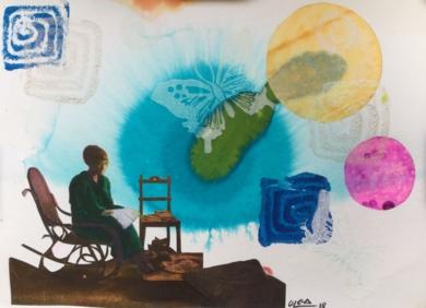 Encarnación|CollagedeOlga Moreno Maza| Compra arte en Flecha.es