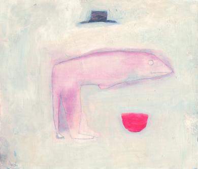 Hombre pez DibujodeÁlvaro Marzán  Compra arte en Flecha.es