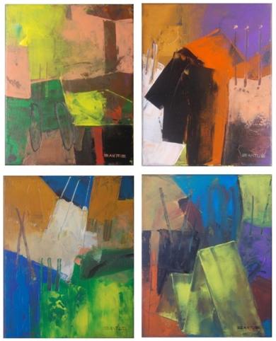 Los Cuatro Mosqueteros PinturadeFrancisco Santos  Compra arte en Flecha.es