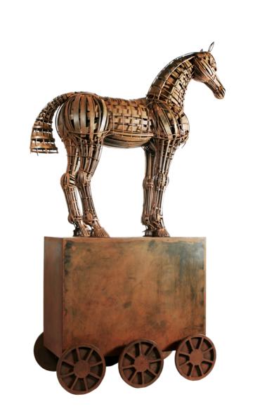 TROYA|EsculturadeFernando Suárez| Compra arte en Flecha.es