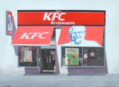 KFC|PinturadeSaid Rajabi| Compra arte en Flecha.es