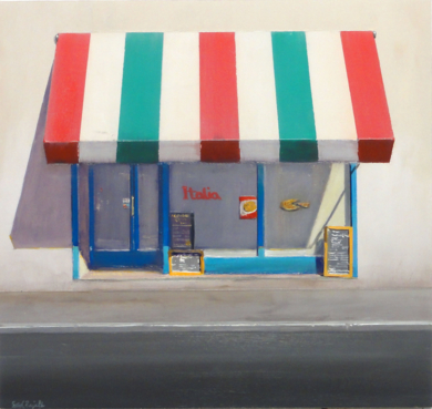 PIZZERIA|PinturadeSaid Rajabi| Compra arte en Flecha.es
