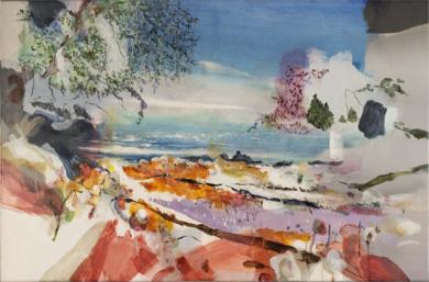 Paisaje de la isla II|PinturadeLuis Kerch| Compra arte en Flecha.es