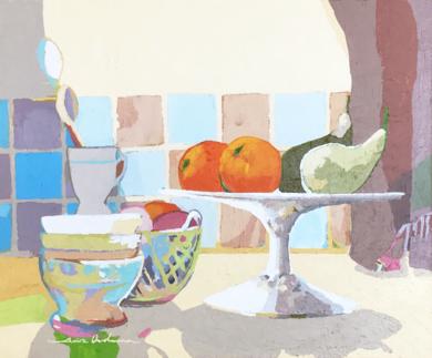 Alacena con frutero|PinturadeJavier AOIZ ORDUNA| Compra arte en Flecha.es