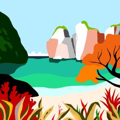Mar caribeño|DigitaldeALEJOS| Compra arte en Flecha.es