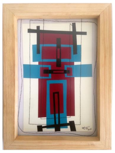 Vino 4|CollagedeFabiana Zapata| Compra arte en Flecha.es