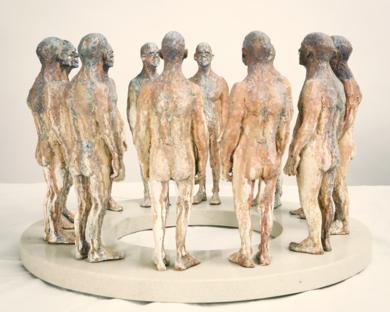 Una historia circular.|EsculturadeReula| Compra arte en Flecha.es