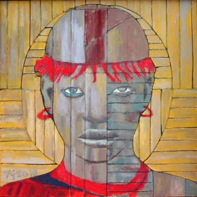 COMPOSICIÓN CONSTRUCTIVISTA|PinturadeVicente Gonzalo| Compra arte en Flecha.es