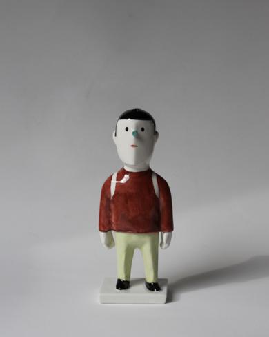 Pyrrho mochilero|EsculturadeManuel Sánchez-Algora| Compra arte en Flecha.es