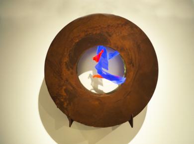 La Pausada Belleza del Movimiento Acuático I|EsculturadeVioleta McGuire| Compra arte en Flecha.es