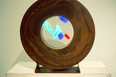 La Pausada Belleza del Movimiento Acuático II|EsculturadeVioleta McGuire| Compra arte en Flecha.es