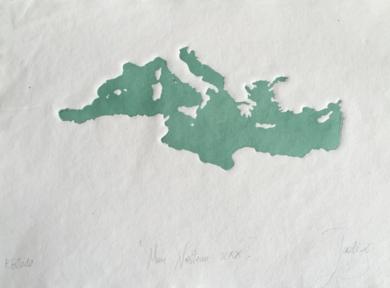 MARE NOSTRUM XXXVI|Obra gráficadeJaelius Aguirre| Compra arte en Flecha.es
