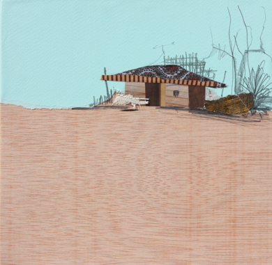 En el horizonte|CollagedeEduardo Query| Compra arte en Flecha.es