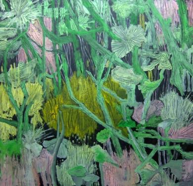 Vegetación en el fondo del mar|Obra gráficadeFrancisco Santos| Compra arte en Flecha.es