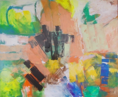 Triple contraste PinturadeFrancisco Santos  Compra arte en Flecha.es