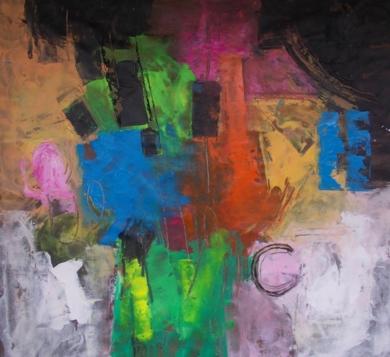 Insostenible ligereza del ser PinturadeFrancisco Santos  Compra arte en Flecha.es