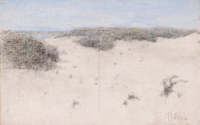 Dunas de Las Tres Piedras|PinturadeJosé Luis Romero| Compra arte en Flecha.es