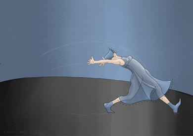 Mujer baila I|Obra gráficadeLola Barcia Albacar| Compra arte en Flecha.es