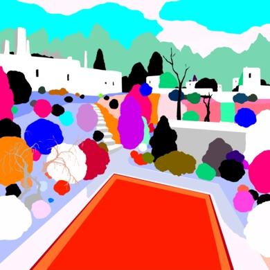 La Urbanización|DibujodeALEJOS| Compra arte en Flecha.es