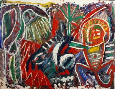 DANZA TRANCE CATARSIS|PinturadeEkhi Huarte| Compra arte en Flecha.es