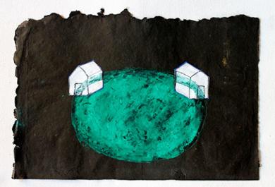 Lago|PinturadeAna Pellón| Compra arte en Flecha.es