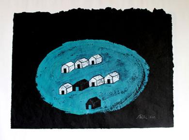 Isla|PinturadeAna Pellón| Compra arte en Flecha.es