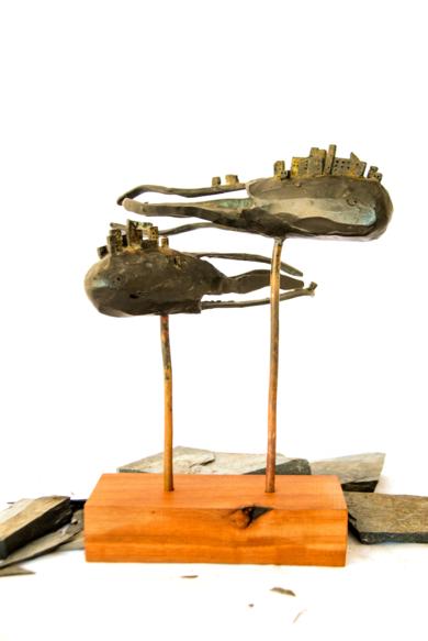 Ciudades inventadas nº1|EsculturadeDesire Tomás| Compra arte en Flecha.es