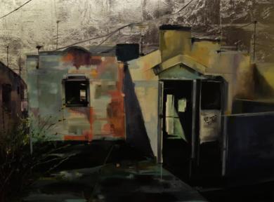 Entra la luz|PinturadeMarta Albarsanz| Compra arte en Flecha.es