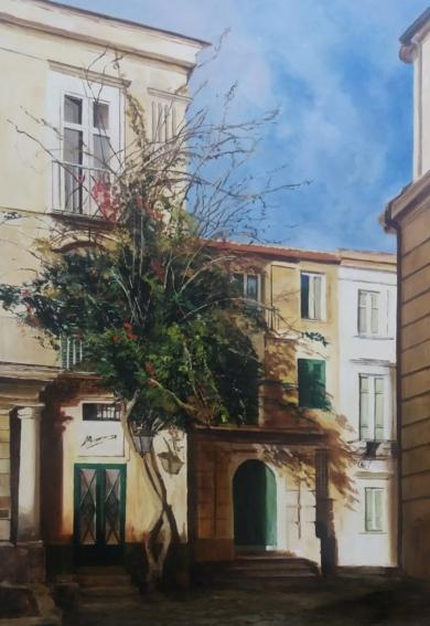 Sur de Italia|PinturadeCarmen Nieto| Compra arte en Flecha.es