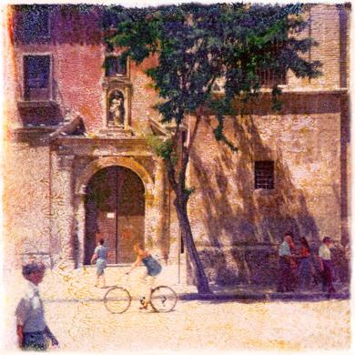 Plaza de Santo Domingo  :  Murcia, Spain|DigitaldeAndy Sotiriou| Compra arte en Flecha.es