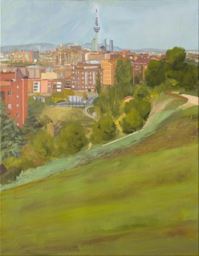 El Pirulí|PinturadeIgnacio Mateos| Compra arte en Flecha.es