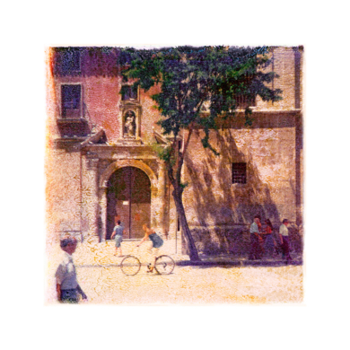 Plaza de Santo Domingo  :  Murcia, Spain|FotografíadeAndy Sotiriou| Compra arte en Flecha.es