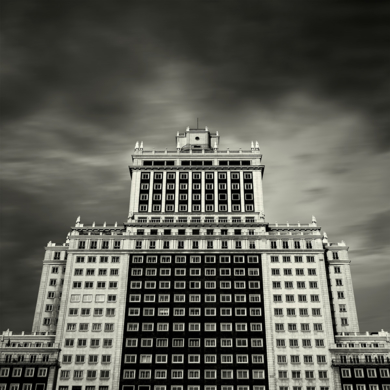 Edificio España,  Madrid|FotografíadeAndy Sotiriou| Compra arte en Flecha.es